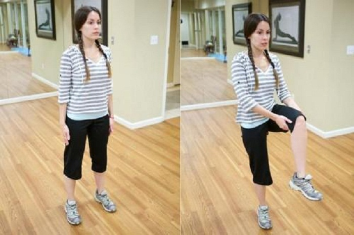 How to get Rid of Belly Pooch with Hip Flexor Stretching