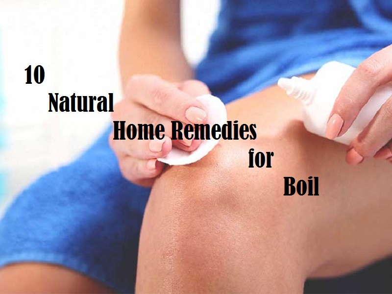 How to get rid of boil