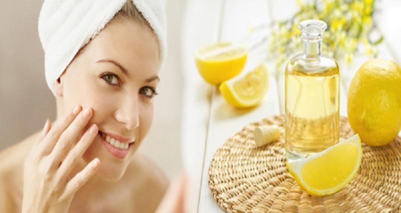 Lemon for pimple treatment