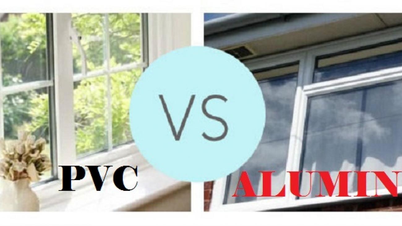 PVC and Aluminum windows comparison