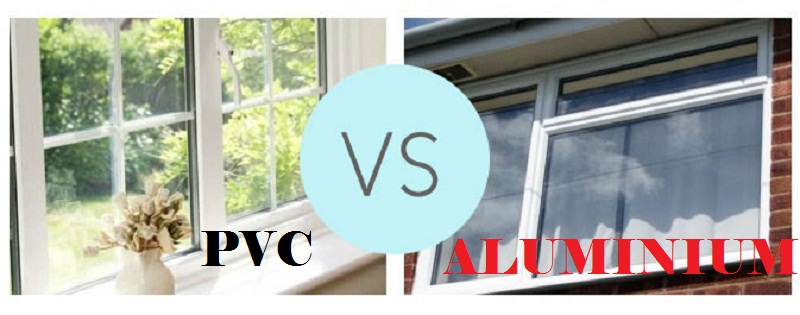 PVC and Aluminum windows comparison