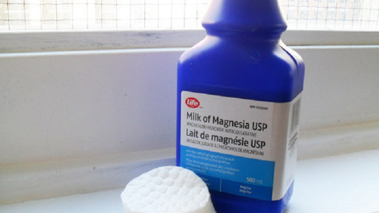 use of milk of magnesia