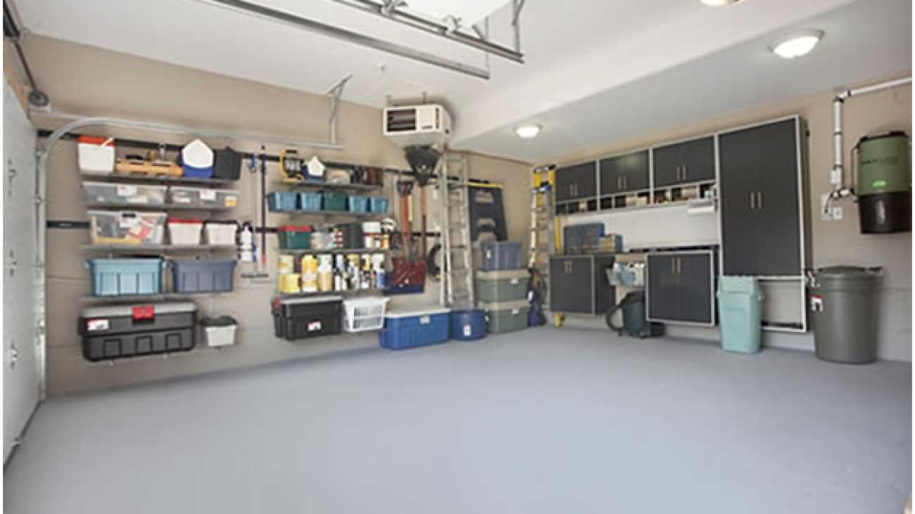 Easy steps to organise your garage2