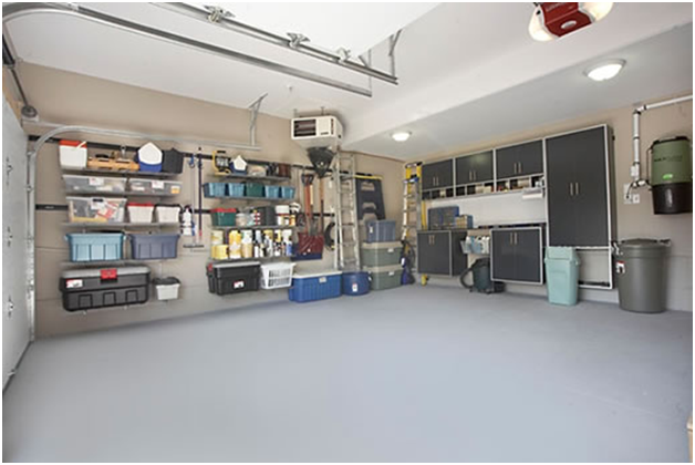 Easy steps to organise your garage