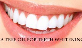 Tea Tree Oil for Teeth Whitening