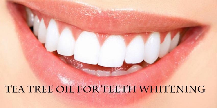 Tea Tree Oil for Teeth Whitening: Amazing useful Tips