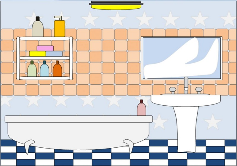 How to make a bathroom cozy with bathroom clipart and tools