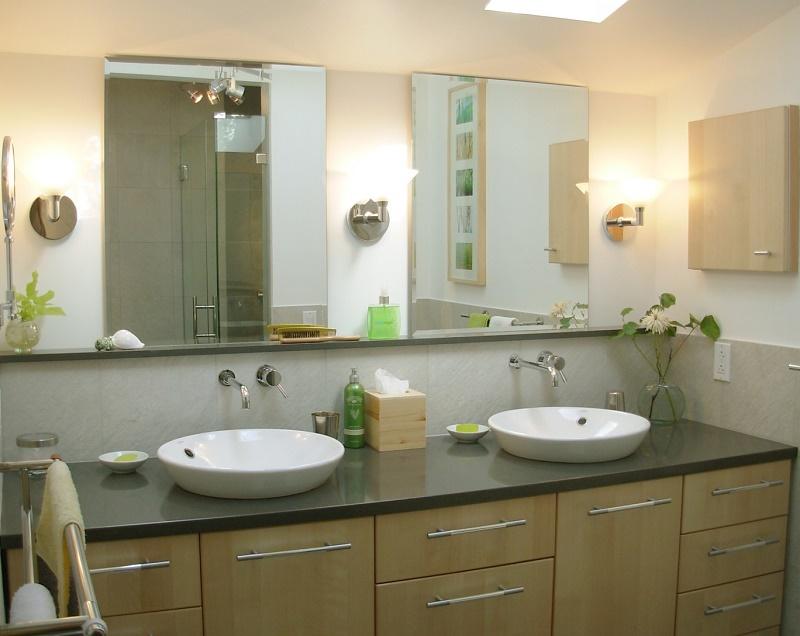 Upholstered bathroom furniture
