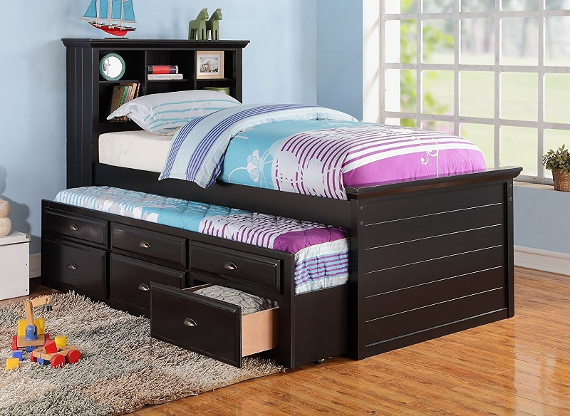 types of trundle bed