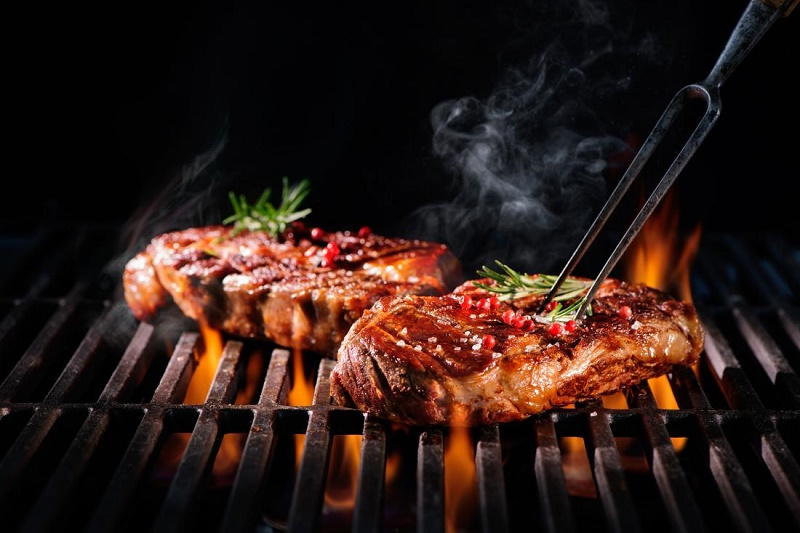 meat for a barbecue