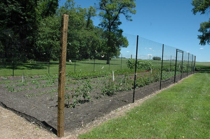 Fences for gardens