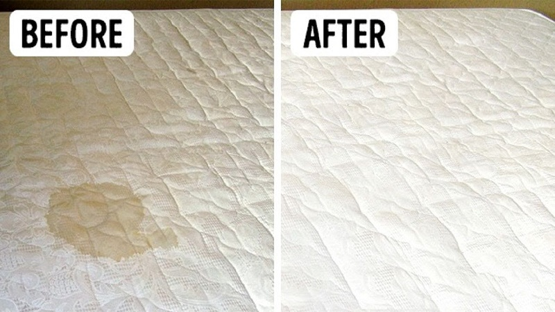 How to remove urine from mattress