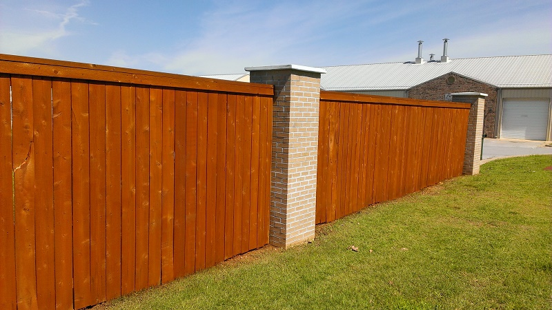 Fence surface
