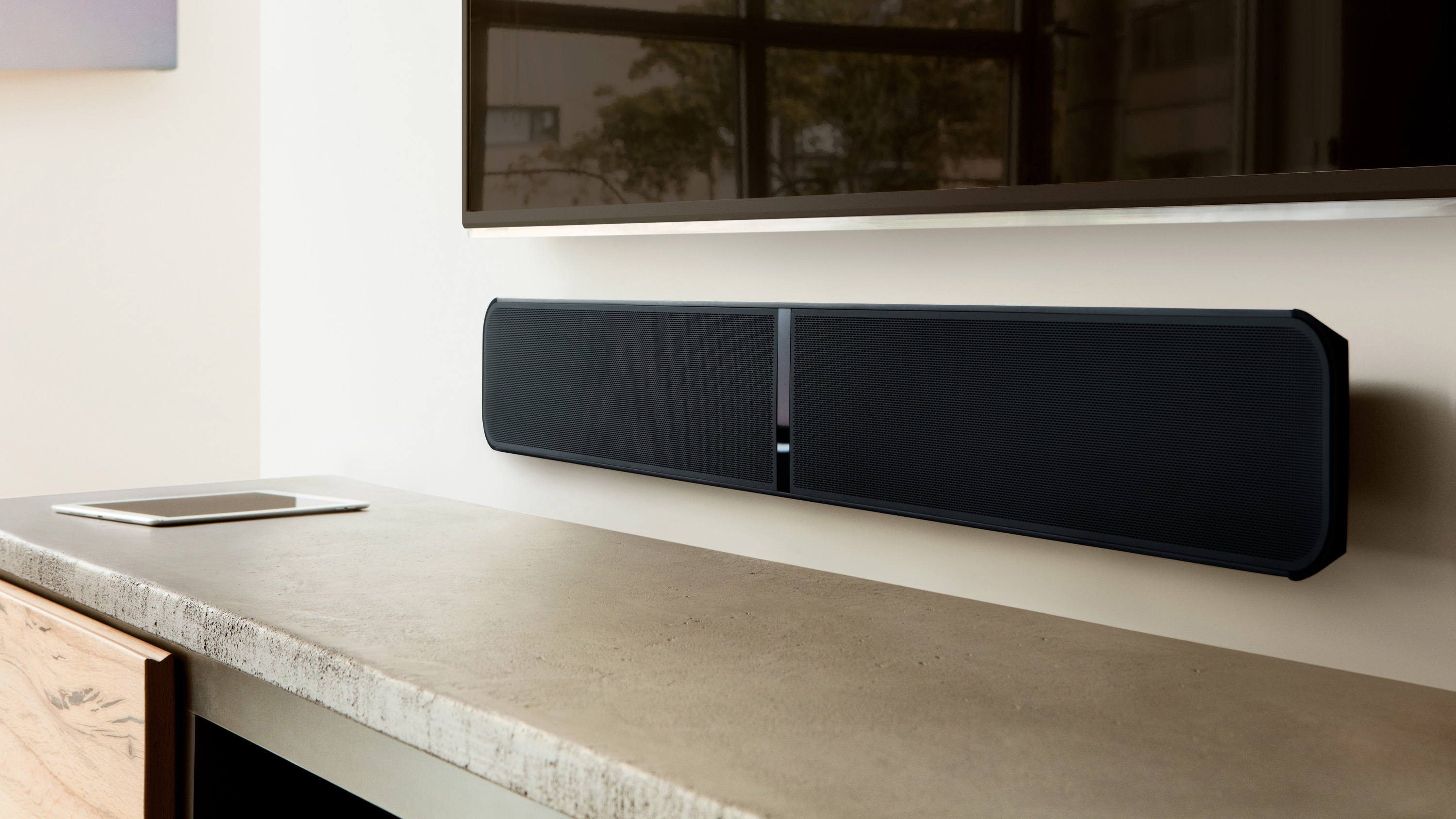 size and location for soundbar