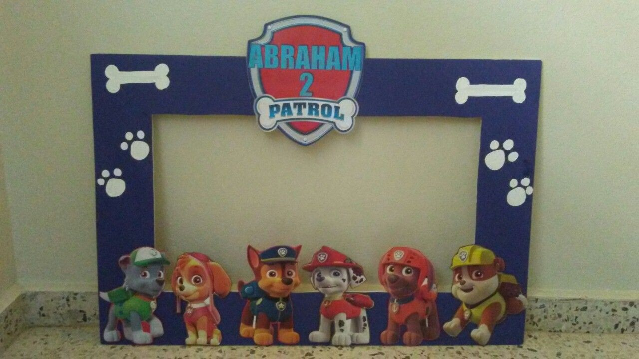 Photocall of the Paw Patrol