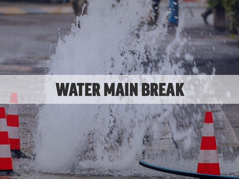 What to do after a water main break? Get solution