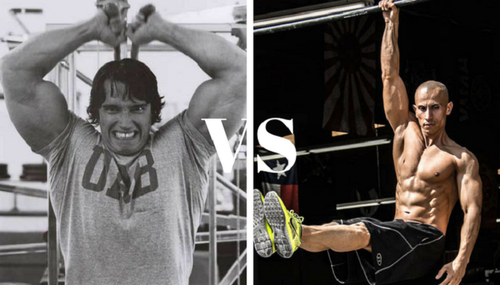 calisthenics vs weights