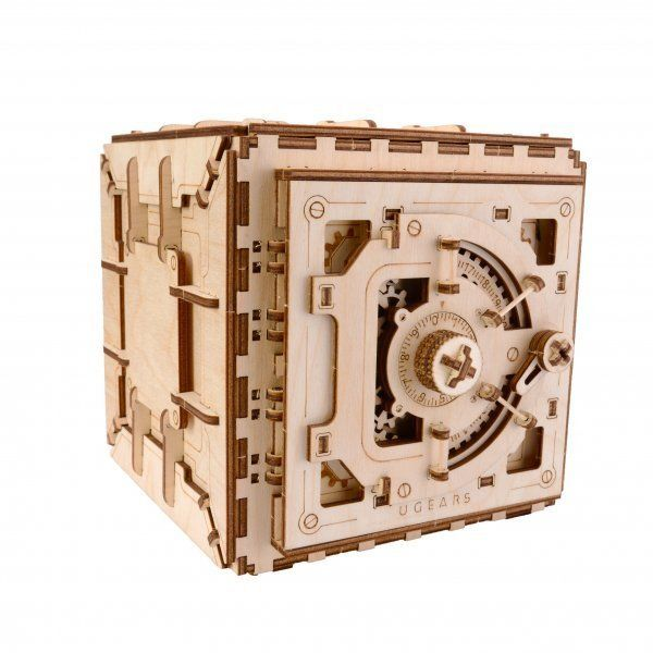 UGears Safe Puzzle