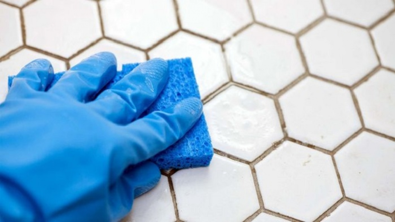 how to clean ceramic tile floor grout