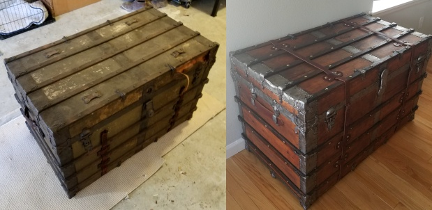 How to rebuild and restore trunk
