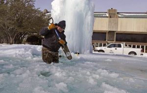 Texas winter weather emergency