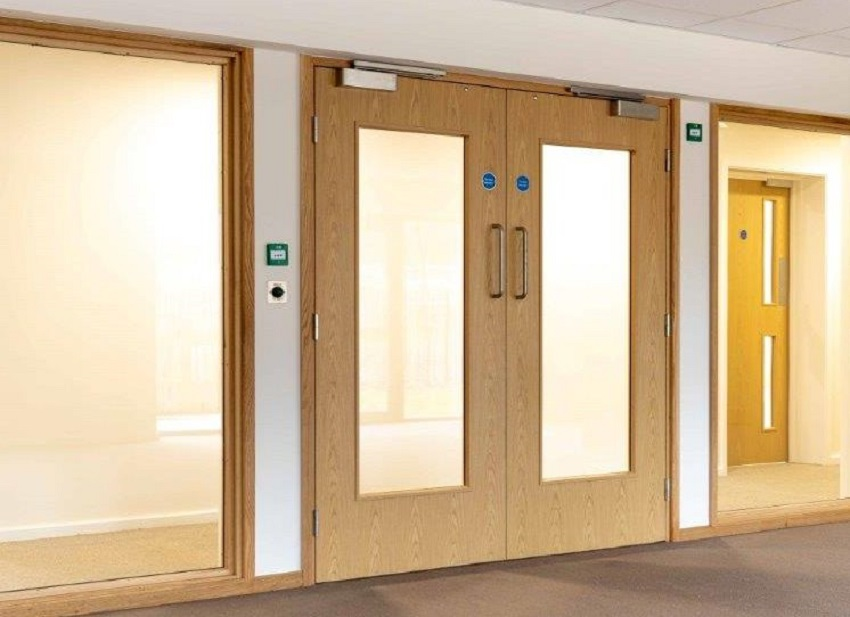 Why and where are fire doors required?